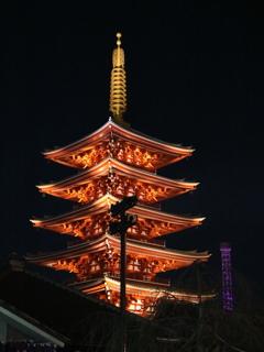 浅草寺五重塔