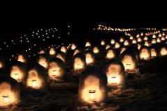 湯西川温泉のかまくら祭