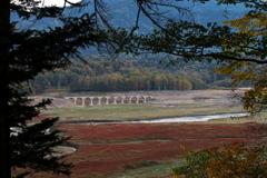 タウシュベツ川橋梁…