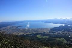 日本百名山 磐梯山山頂からの絶景