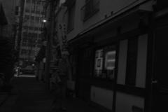 神楽坂の路地裏