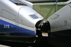 TGV同士の連結
