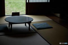 卓袱台と座布団