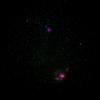 三烈星雲と干潟星雲