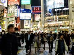 渋谷センター街の交差点