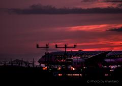 瀬戸の夕焼け「紅の空に」