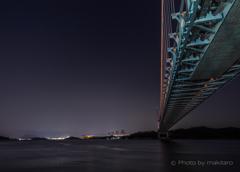 瀬戸大橋「対岸の四国」