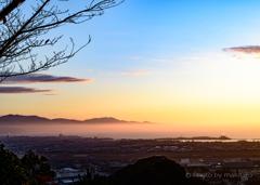 瀬戸の夕景「あの日の空」