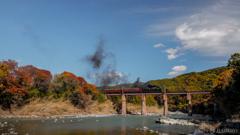 秋の秩父鉄道