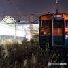 夜の軽井沢駅