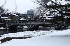 雪の浅ノ川
