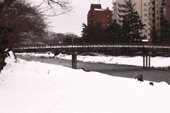 おんな川に架かる橋