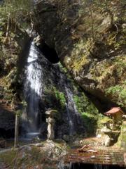 美山町下 不動の滝