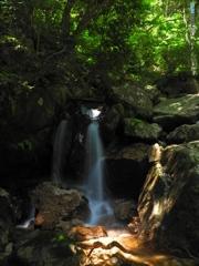 至福のショット~楊梅の滝