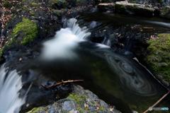 野鹿の滝、渦フェチになりかけ