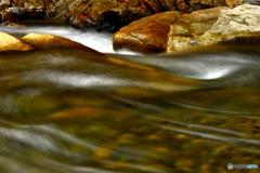 冬の川遊び~水の形