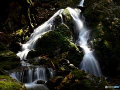 須縄の大滝~本瀑下部
