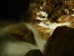 楊梅の滝 雄滝直下