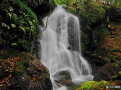 奥田縄の滝正面