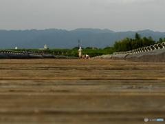座頭市にヤラレタラ~流れ橋
