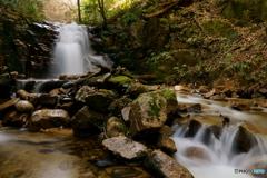 うわさの滝~上の小滝1
