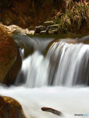 冬の川遊び~滝は我慢