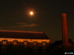 月夜の酒蔵