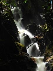 白蛇の滝 ズーム