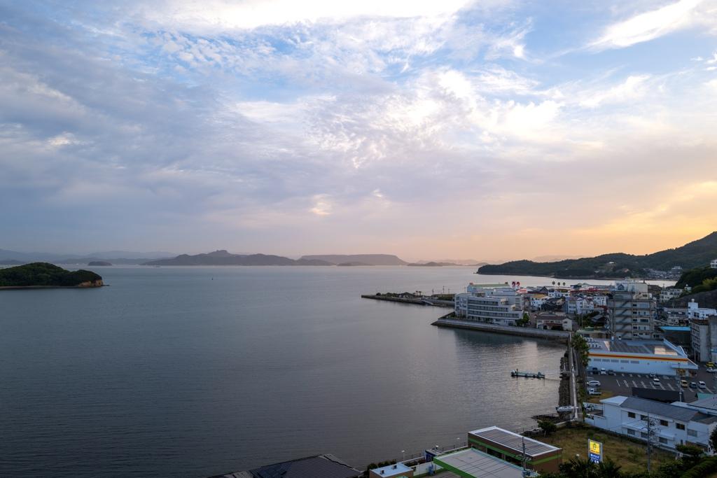 小豆島夕景