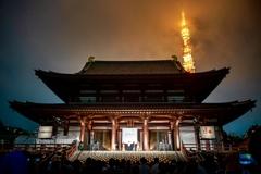増上寺キャンドルナイト