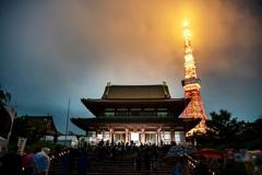 増上寺キャンドルナイト2