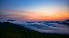 朝焼け雲海