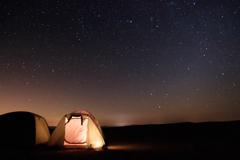 星空キャンプ