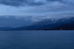 琵琶湖2 湖西の夜明け