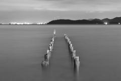 琵琶湖4 夜の浜