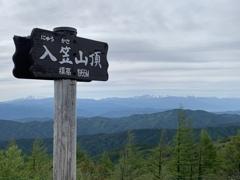 入笠山 2021年6月5日