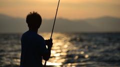 琵琶湖黄昏