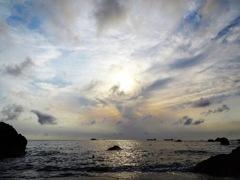 大好きな空と海を眺めて