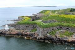 要塞の島 (ヘルシンキ港 入口)