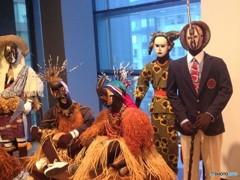 あるアフリカ人部族の祭りの衣装(シアトル美術館での出会い 5)