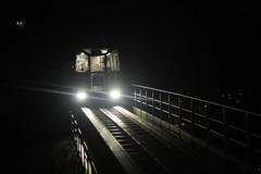 夜の無人運転