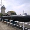 徳山港の回天のレプリカ