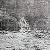 戦後まもなく撮影されたトンネル工場の外観