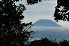P1180621 10月21日 今朝の富士山