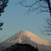 1月27日 今朝の富士山