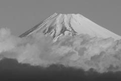 P1200295 2月17日 今朝の富士山