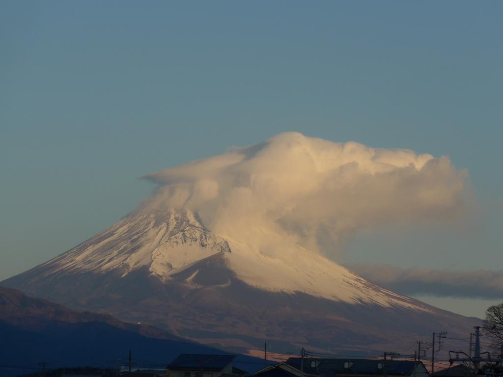 P1130246 1月5日 今朝の富士山