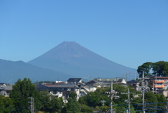P1280178 8月5日 今朝の富士山