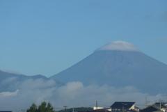 P1280259 8月20日 今朝の富士山