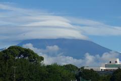 P1280237 8月19日 今朝の富士山